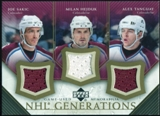 2005/06 Upper Deck NHL Generations #TSHT Joe Sakic/Milan Hejduk/Alex Tanguay