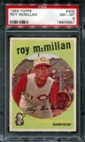 1959 Topps Baseball #405 Roy McMillan PSA 8 (NM-MT) *4557