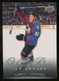 2011/12 Upper Deck Canvas #C231 Gabriel Landeskog YG