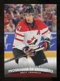 2011/12 Upper Deck Canvas #C257 Brett Connolly POE