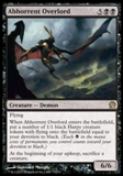 Magic the Gathering Theros Single Abhorrent Overlord UNPLAYED