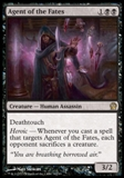 Magic the Gathering Theros Single Agent of the Fates UNPLAYED