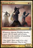 Magic the Gathering Theros Single Akroan Hoplite UNPLAYED