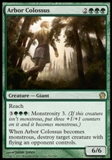 Magic the Gathering Theros Single Arbor Colossus Foil - NEAR MINT (NM)