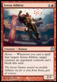 Magic the Gathering Theros Single Arena Athlete UNPLAYED