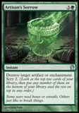 Magic the Gathering Theros Single Artisan's Sorrow Foil UNPLAYED
