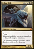 Magic the Gathering Theros Single Ashen Rider UNPLAYED