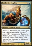 Magic the Gathering Theros Single Battlewise Hoplite UNPLAYED