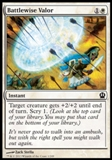 Magic the Gathering Theros Single Battlewise Valor UNPLAYED