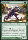 Magic the Gathering Theros Single Boon Satyr Foil UNPLAYED