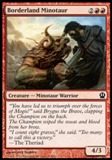 Magic the Gathering Theros Single Borderland Minotaur UNPLAYED