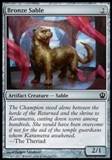 Magic the Gathering Theros Single Bronze Sable UNPLAYED