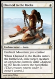 Magic the Gathering Theros Single Chained to the Rocks - NEAR MINT (NM)
