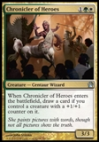 Magic the Gathering Theros Single Chronicler of Heroes - NEAR MINT (NM)