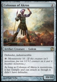 Magic the Gathering Theros Single Colossus of Akros Foil - NEAR MINT (NM)