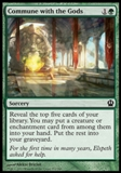 Magic the Gathering Theros Single Commune with the Gods - NEAR MINT (NM)