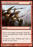 Magic the Gathering Theros Single Coordinated Assault - NEAR MINT (NM)