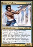 Magic the Gathering Theros Single Daxos of Meletis Foil - NEAR MINT (NM)