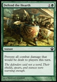 Magic the Gathering Theros Single Defend the Hearth - NEAR MINT (NM)