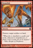 Magic the Gathering Theros Single Demolish UNPLAYED