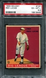 1933 Goudey Baseball #137 Red Lucas PSA 6.5 (EX-MT+) *8446