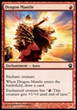Magic the Gathering Theros Single Dragon Mantle UNPLAYED