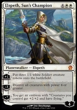 Magic the Gathering Theros Single Elspeth, Sun's Champion Foil UNPLAYED