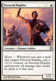 Magic the Gathering Theros Single Favored Hoplite - NEAR MINT (NM)