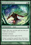 Magic the Gathering Theros Single Feral Invocation UNPLAYED