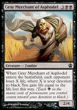 Magic the Gathering Theros Single Gray Merchant of Asphodel UNPLAYED