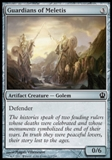 Magic the Gathering Theros Single Guardians of Meletis UNPLAYED