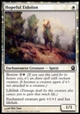 Magic the Gathering Theros Single Hopeful Eidolon UNPLAYED