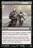 Magic the Gathering Theros Single March of the Returned UNPLAYED