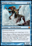 Magic the Gathering Theros Single Master of Waves FOIL - NEAR MINT (NM)