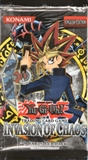 Upper Deck Yu-Gi-Oh Invasion of Chaos Unlimited Booster Pack