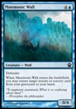 Magic the Gathering Theros Single Mnemonic Wall - NEAR MINT (NM)