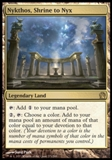 Magic the Gathering Theros Single Nykthos, Shrine to Nyx - HEAVY PLAY (HP)