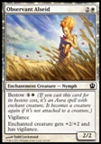 Magic the Gathering Theros Single Observant Alseid UNPLAYED