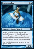 Magic the Gathering Theros Single Omenspeaker Foil - NEAR MINT (NM)