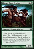 Magic the Gathering Theros Single Pheres-Band Centaurs UNPLAYED