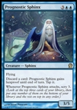 Magic the Gathering Theros Single Prognostic Sphinx Foil - NEAR MINT (NM)