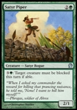 Magic the Gathering Theros Single Satyr Piper - NEAR MINT (NM)