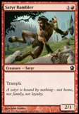Magic the Gathering Theros Single Satyr Rambler - NEAR MINT (NM)
