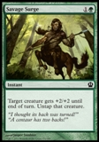 Magic the Gathering Theros Single Savage Surge - NEAR MINT (NM)