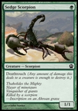 Magic the Gathering Theros Single Sedge Scorpion - NEAR MINT (NM)