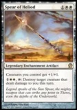 Magic the Gathering Theros Single Spear of Heliod Foil UNPLAYED