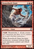 Magic the Gathering Theros Single Stoneshock Giant - NEAR MINT (NM)