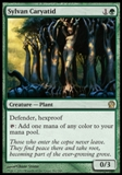 Magic the Gathering Theros Single Sylvan Caryatid Foil - NEAR MINT (NM)