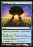 Magic the Gathering Theros Single Temple of Mystery Foil UNPLAYED