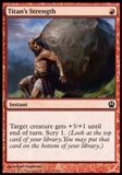 Magic the Gathering Theros Single Titan's Strength - NEAR MINT (NM)